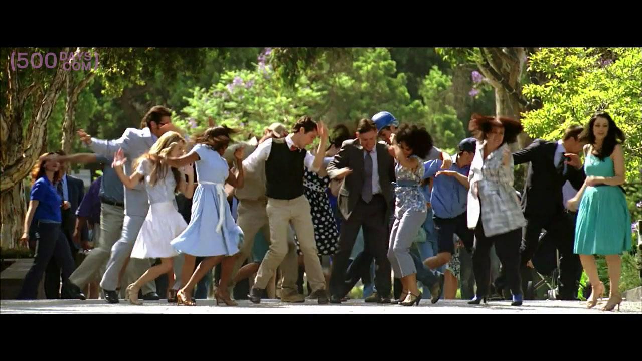 Tom Joseph Gordon Levitt Dancing 500days