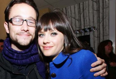 Of course, these are the stars of 500 Days, Joseph Gordon-Levitt and Zooey Deschanel. I don't think they need any extra description...