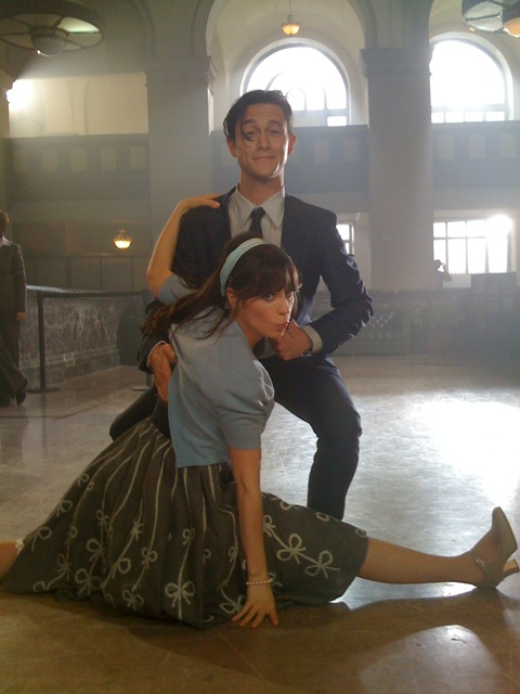 Zooey Deschanel and Joesph Gordon Levitt Dance Movie