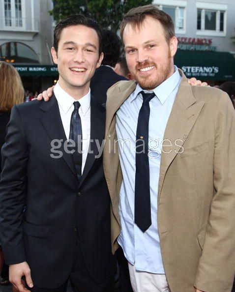 Joe Gordon-Levitt with Director Marc Webb