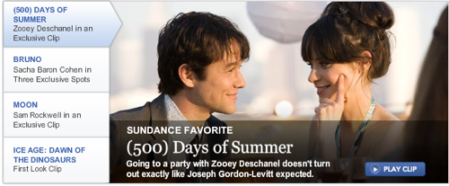 Exclusive clip of 500 Days of Summer