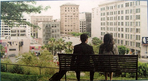Tom's Bench in 500 Days of Summer