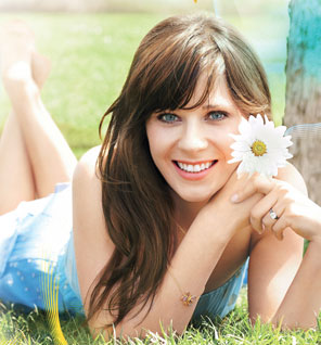 zooey dechanel photo shoot