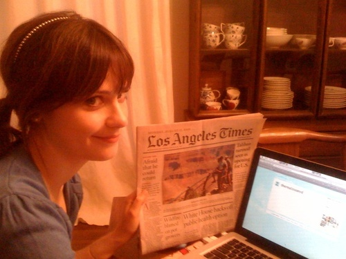 zooey deschanel on twitter